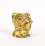 Коллекционная миниатюра, мини бокал, бронза, литье, Германия, фото 4