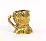 Коллекционная миниатюра, мини бокал, бронза, литье, Германия, фото 5