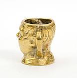 Коллекционная миниатюра, мини бокал, бронза, литье, Германия, фото 6