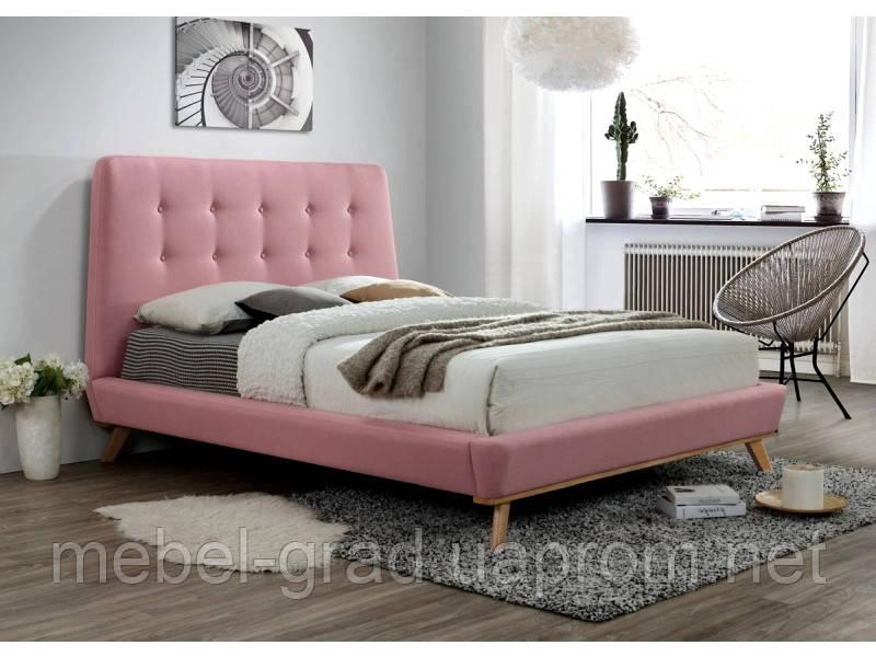 Кровать двухспальная Dona Signal розовый 160х200