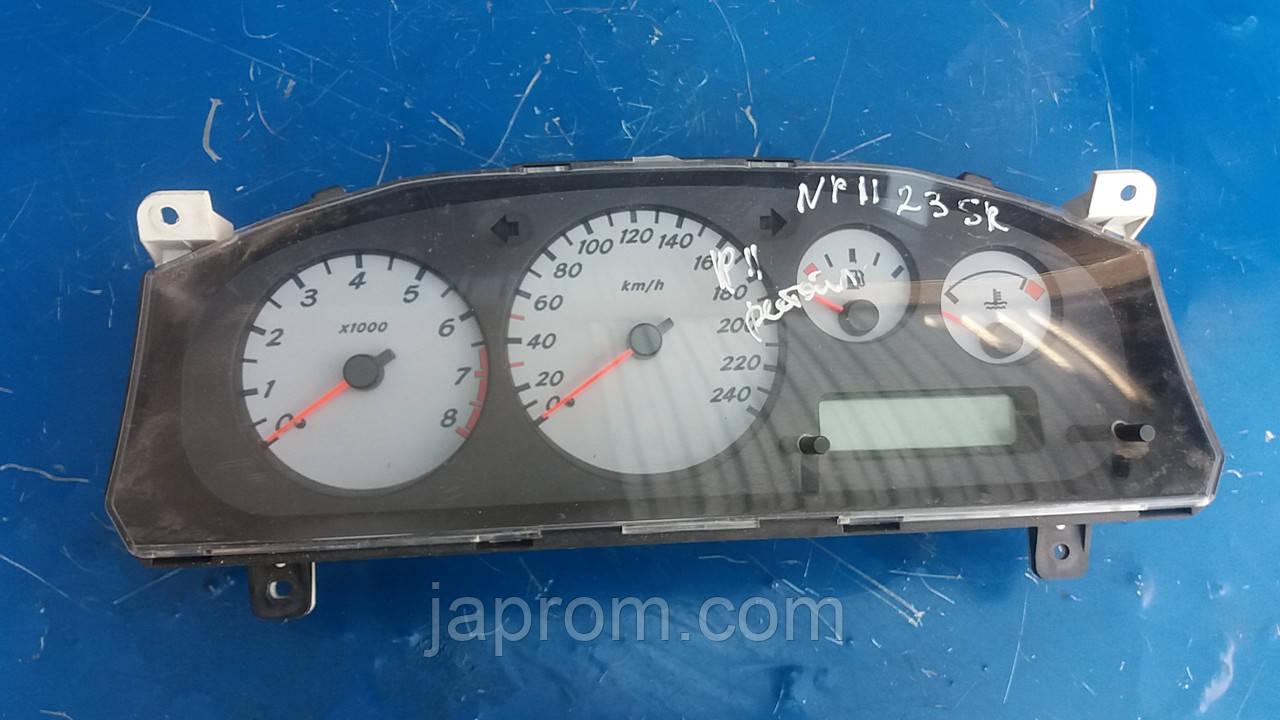 Панель щиток приборов (белый фон) Nissan Primera P11 2000-2001г.в 2.0 бензин рестайл 9F769