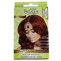 Краска для волос Triuga Рыжий на основе хны 25 г