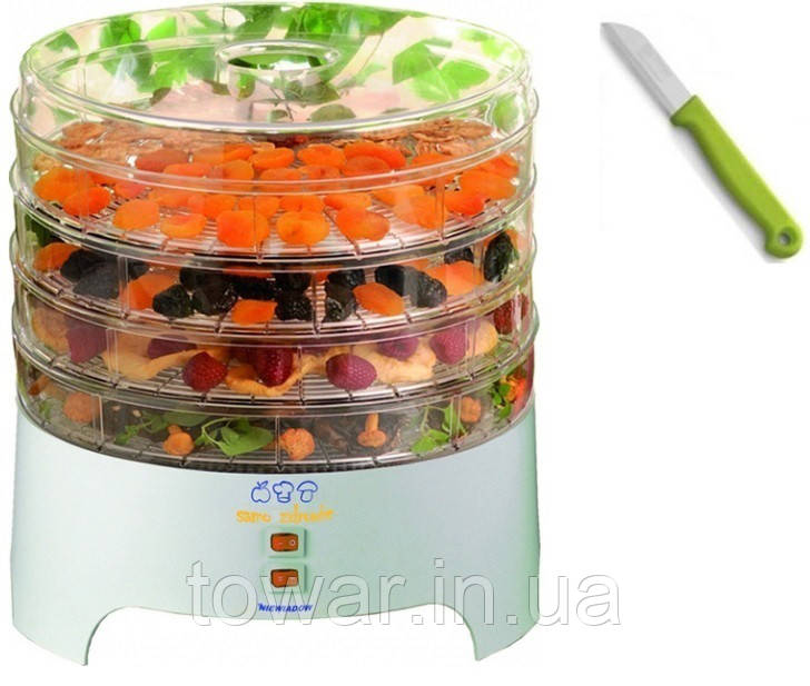 Сушка для грибов,овочей и фруктов NIEWIADÓW 500W