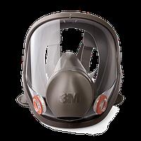 Полнолицевая маска 3М 6800 M серии 6000, средний размер