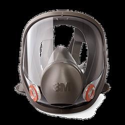 Повна маска 3М 6800 M серії 6000, середній розмір