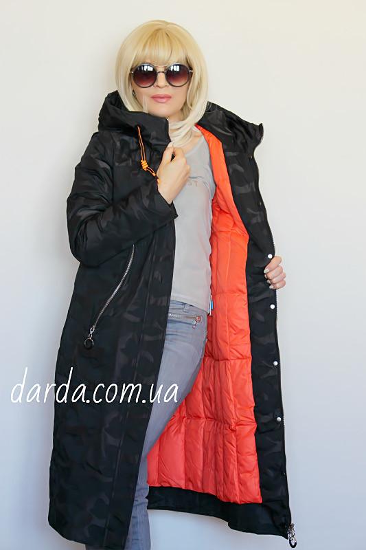 682ca1b3 Женская зимняя парка на подстежке Mishele 18078 - Интернет-магазин  Darda-Prom.ua