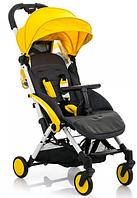 Детская прогулочная коляска BabyHit Amber Plus - Yellow Black (Бебихит Амбер)