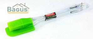 Лопатка и кисточка силиконовые Fissman (PR-7017.BS)
