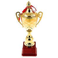 Кубок спортивный 35 см (чаша с крышкой)