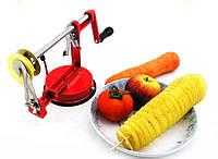 Машинка SPIRAL POTATO SLICER для резки спиралью картофеля чипсы