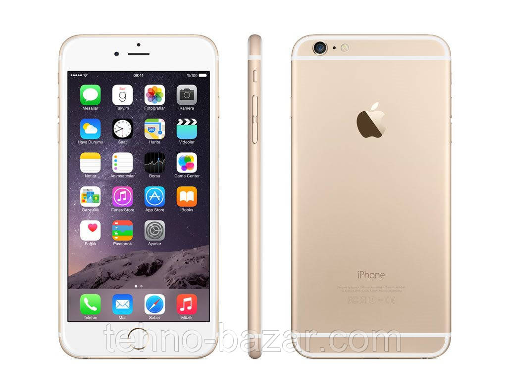 Cмартфон Apple iPhone 6s+ 64GB Gold Оригинал Neverlock Гарантия 6 мес