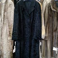 Красивое пальто каракульча черная натуральная размер 48 50 в кредит , фото 1