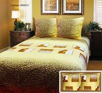 Комплект постельный ( пододеяльник, 2 наволочки, простынь)