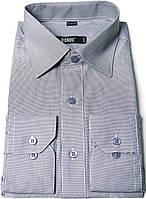"""Рубашка мужская """"Bendu"""". Серая. Длинный рукав"""