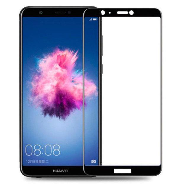 Full Glue защитное стекло для Huawei P Smart - Black