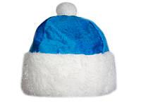 """Новогодняя шапка голубая """"Снегурочка"""""""