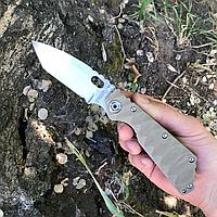Нож складной Strider SNG Tanto 9Cr18MoV Steel Khaki (Replica)