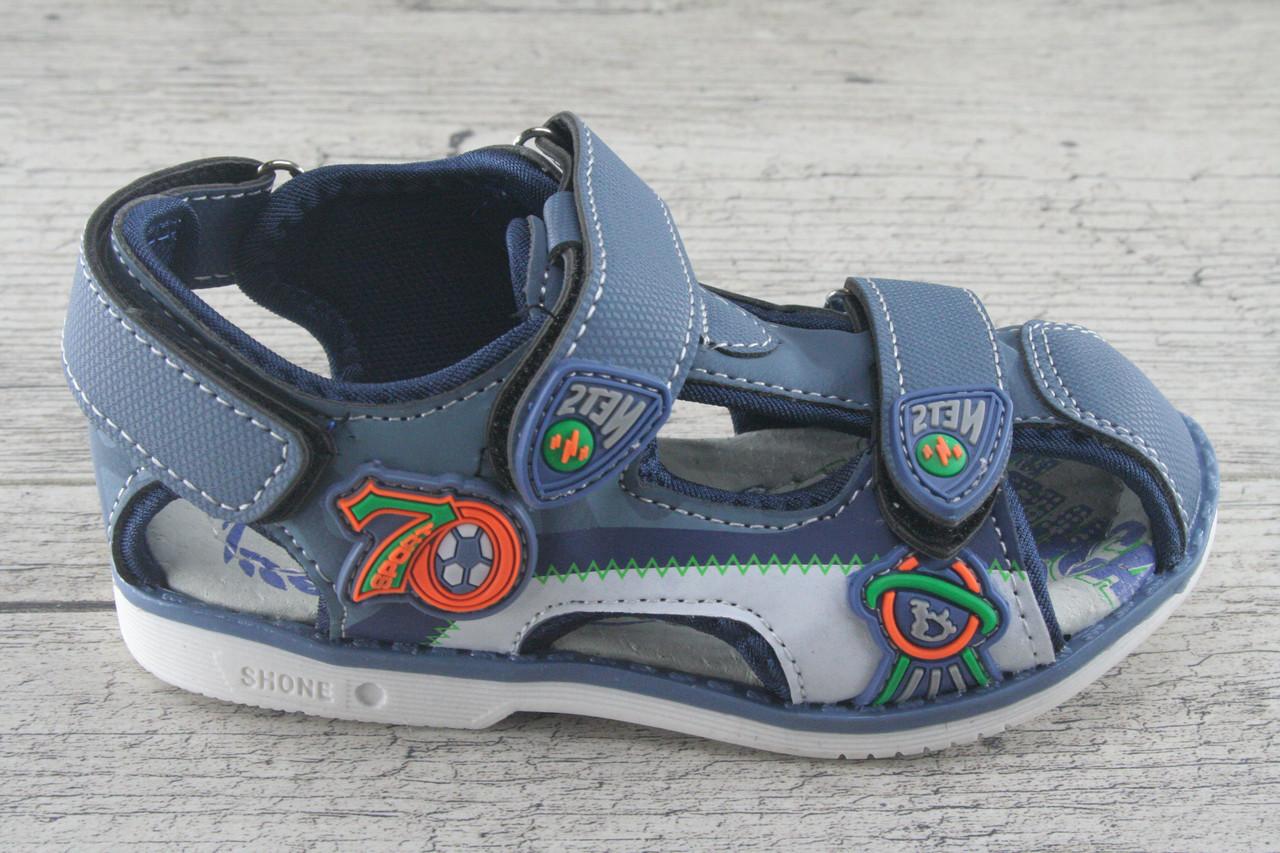 Босоножки, сандали детские на липучке BBT, обувь качественная, летняя, подростковая