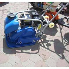 Бензиновая виброплита ODWERK PC80T-C (Loncin G200F/6, 300 мм, 85 кг)