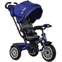 Bелосипед трехколесный  Best Trike 6188 B-8340 с надувными колесами Синий 66545