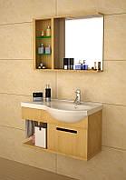Комплект мебели для ванной комнаты CRW GSP9101 песочный, 900х500х530 мм