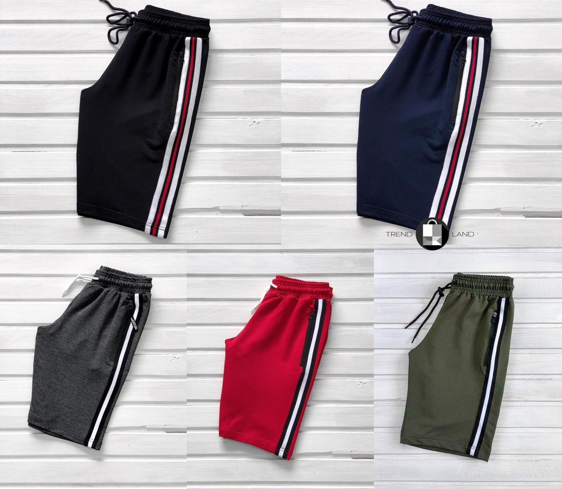 Мужские спортивные шорты Line Plus 5 цветов в наличии