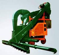 Очиститель вороха ОВС-25 самопередвижной (зерноочистительная машина)