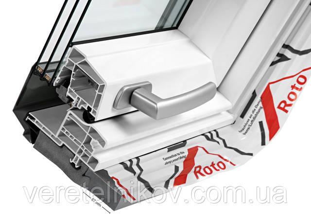 Roto Designo R8WDF R89P K WD мансардные окна