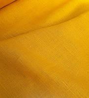 """Льняная плотная скатертная ткань """"Пыльца"""" (шир. 150 см)"""
