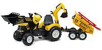 Трактор Педальный Power Loader  Falk  1000WH. Машинка для детей, фото 1