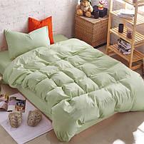 Подростковое однотонное постельное белье Premium