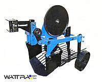 Картофелекопатель вибрационный КП-01Л УКРПРОМ, ширина захвата 400мм, глубина до 180мм, вес 34кг