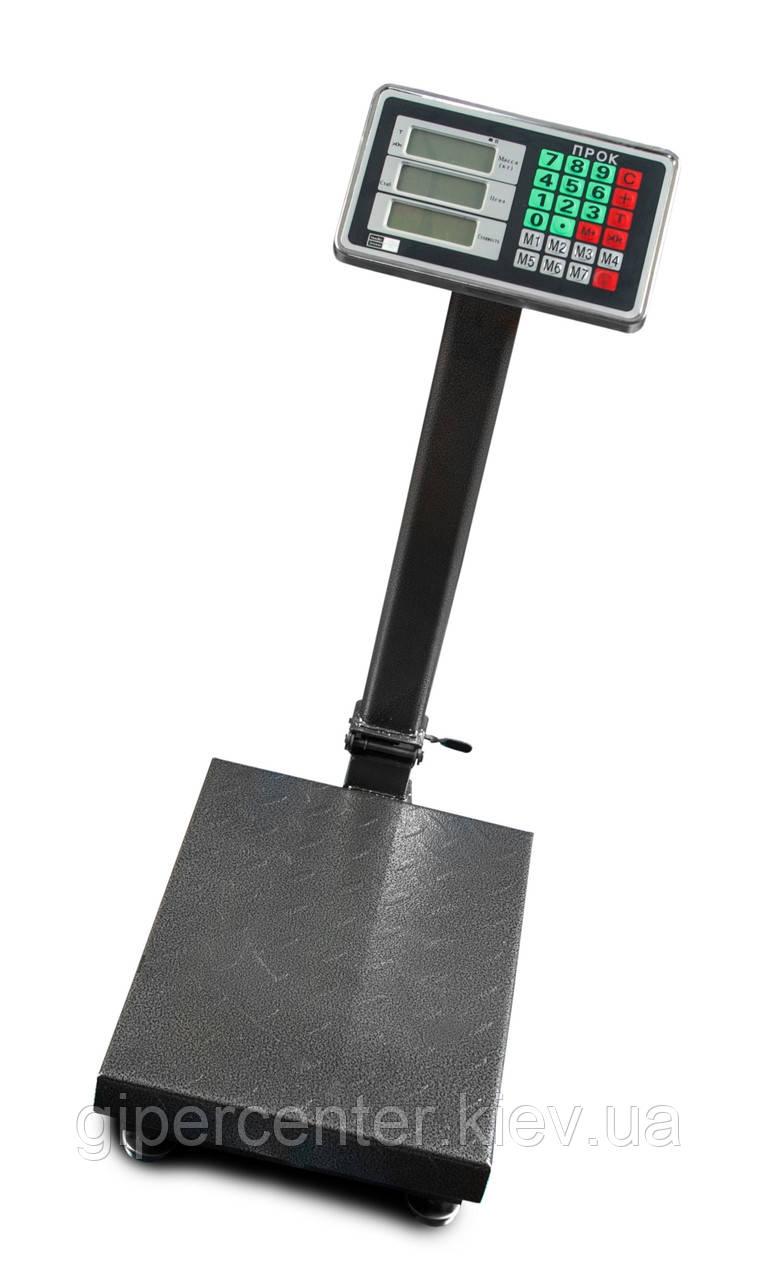 Весы товарные-торговые ПРОК ВТ-100-С1 до 100 кг, 300х400 мм