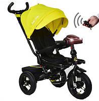 Best trike Велосипед 3-х кол поворотный корпус/ желтый