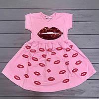 Платье с пайетками для девочек оптом р.1-2, 3-4 года
