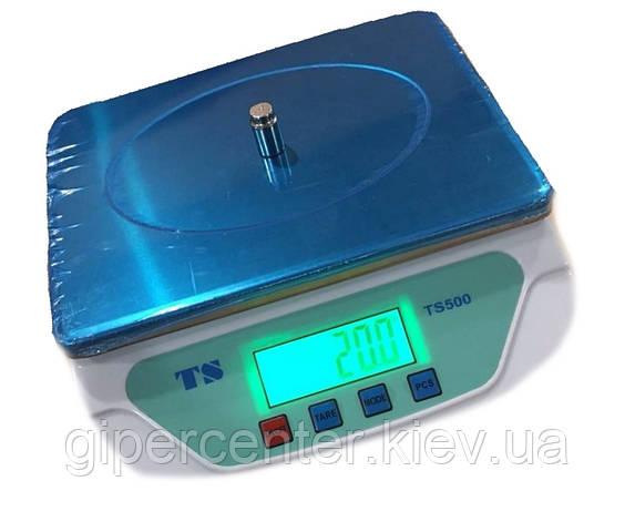 Весы фасовочные ПРОК TS-500 до 6 кг, дискретность 0.5 г, фото 2