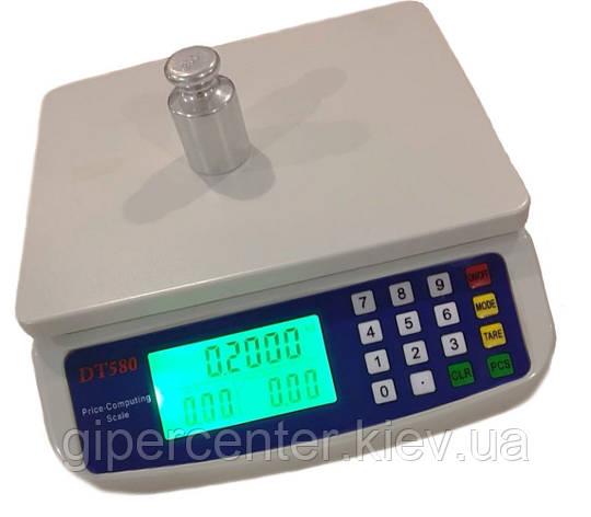 Весы фасовочные ПРОК DT-580 до 6 кг, дискретность 0.5 г, фото 2