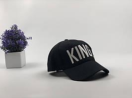 Кепка бейсболка King (черный)