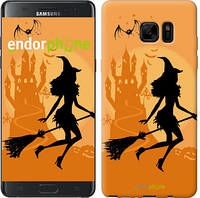 "Чехол на Samsung Galaxy S9 Plus Ведьма на метле ""1184c-1365-5114"""