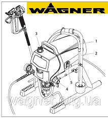 Ремкомплект седла клапана для Wagner ProSpray 3.20