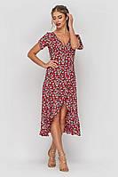Платье халат Элиза, (2цв), платье на лето, сукня, плаття, платье с воланом, дропшиппинг