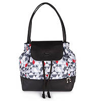 """Рюкзак для мами UPTOWN-трикутники з матрасиком для пелинання  НОВИНКА !!! """"BabyOno"""""""