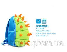 Детский рюкзак Nohoo Шипастик Синий (NH022 Blue), фото 3