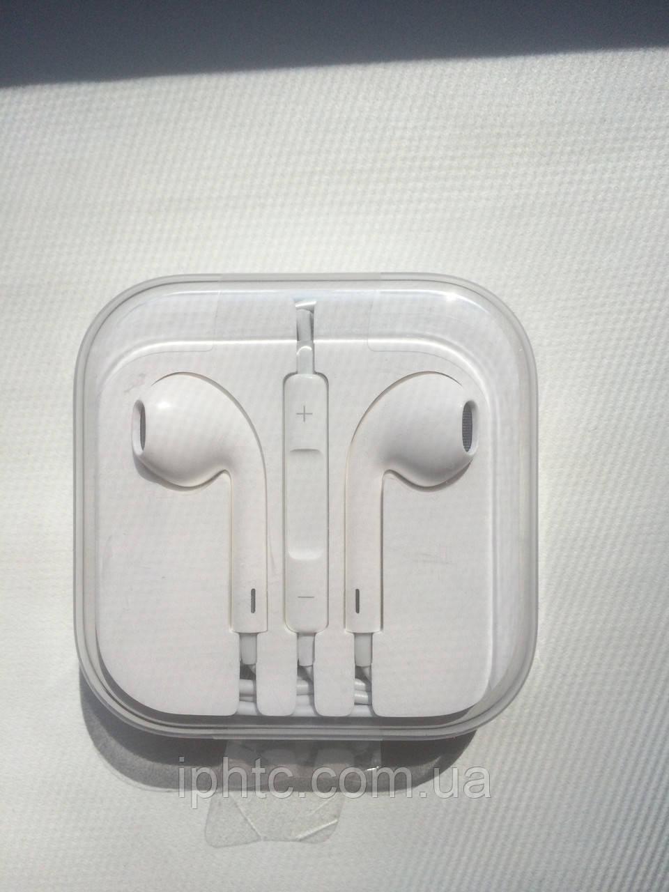Оригинал наушники Apple EarPods with Remote and Mic, фото 1