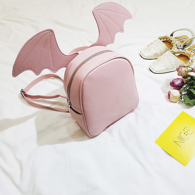 Рюкзак со сменными ушками розовый