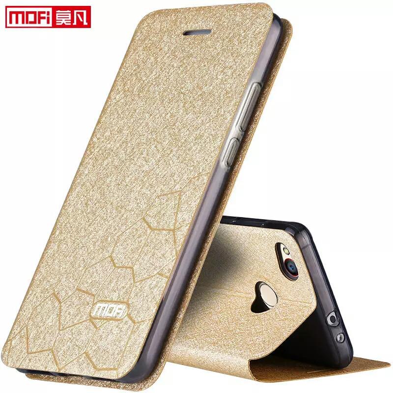 Чохол-книжка Xiaomi Redmi 4X 5 дюймів, оригінальний Mofi золотистий