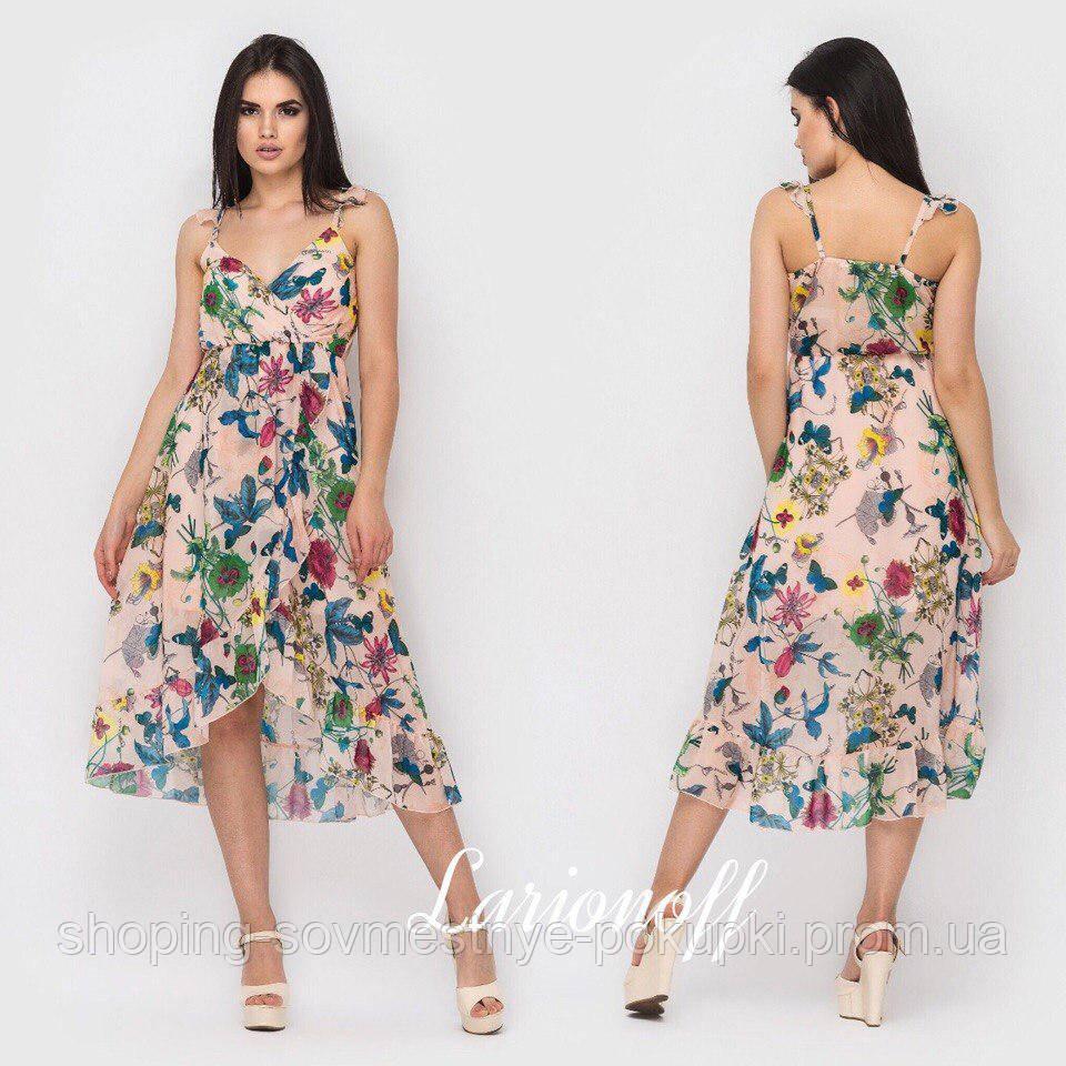 e844db46eb8 Летнее платье в цветочек (разные расцветки) купить в Украине