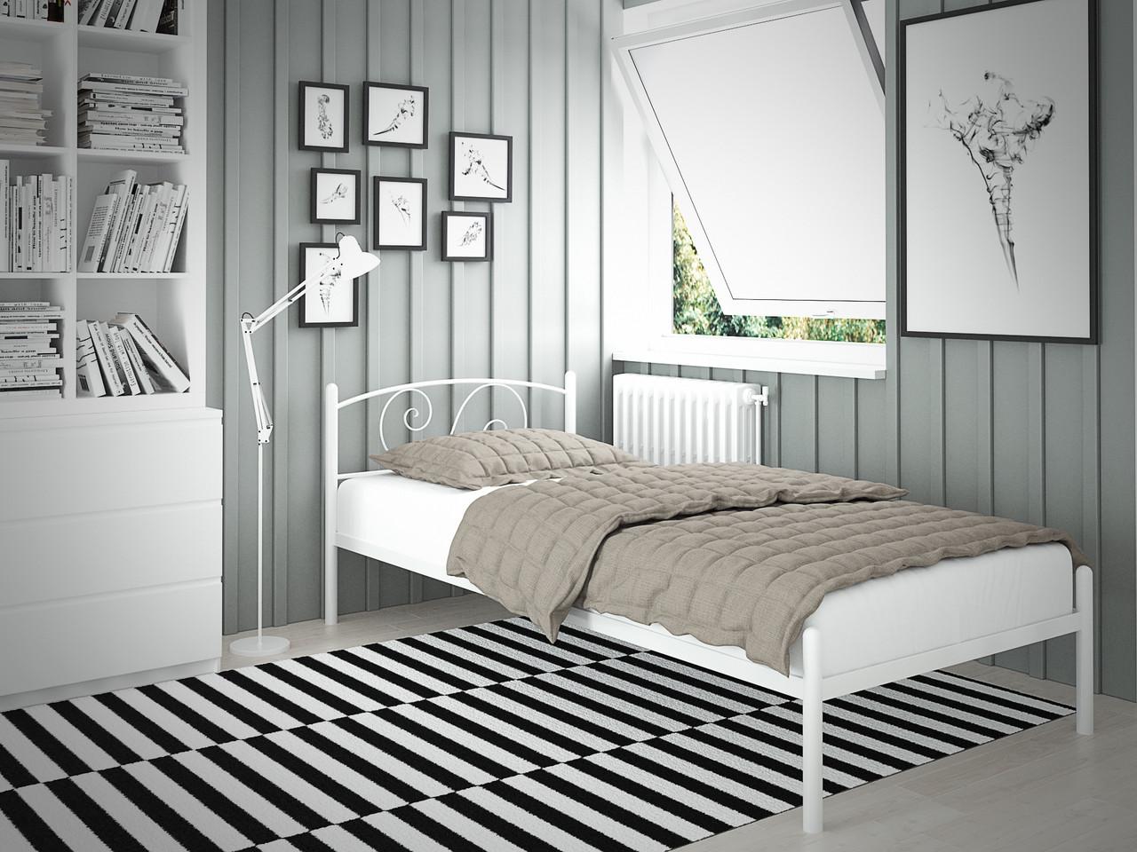 Кровать Виола Мини Белая 80*190 (Tenero TM)