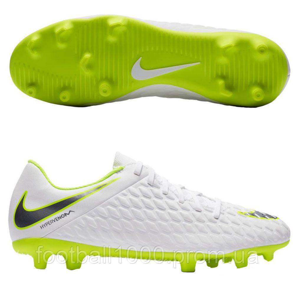 5ec739d9 Футбольные бутсы Nike Hypervenom Phantom III Club FG AJ4145-107 ...