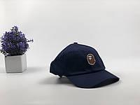 Кепка бейсболка Bape (темно-синяя)
